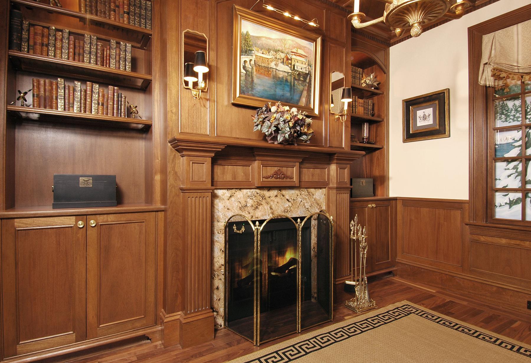 Van Millwork Design Center Custom Library